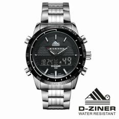 Jam Tangan Original D Ziner Dziner Dz 8169 Silver List White D Ziner Murah Di Dki Jakarta
