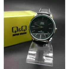 Spesifikasi Jam Tangan Original Q Q C214J302Y Full Black Leather Online