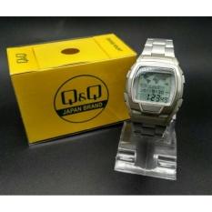 Jam Tangan Original Q&Q Data bank MM11J301Y Silver Promo