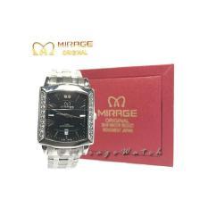 Toko Jam Tangan Original Wanita Mirage Fashion Permata 7442M Silver Online