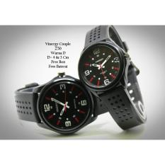 Jam Tangan Pasangan / Couple Murah Vinergy Seilon Fashion Four Color