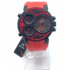 Produk Laris Jam Tangan Pria / Alfa 4 Time Sport Man - Jam Tangan Sport Pria