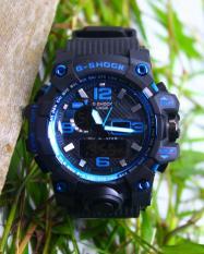Jam tangan pria anak cowo digital terbaru g shock casio ripcurl biru