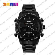 Spesifikasi Jam Tangan Pria Analog Digital Skmei 1131 White Waterproof 50M Baru