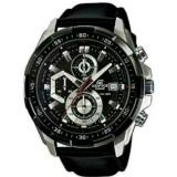 Beli Jam Tangan Pria Casio Edifice Efr 539L 1Av Silver Black Leather Black Pake Kartu Kredit