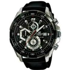 Harga Jam Tangan Pria Casio Edifice Efr 539L 1Av Silver Black Leather Black Asli