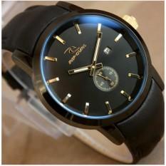 Jam tangan Pria Crono - Model Casual - Leather strap - Analog Supper