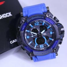 Harga Jam Tangan Pria G Shock Gwa 200 Blue Black Satu Set