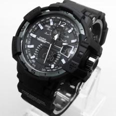 Jam Tangan Pria Gshock Gwa-1100 Full Black - Pnle9z