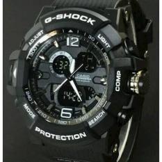 Jam Tangan Pria Keren Gshock Gwa-1100 Full Black - Amiuw4