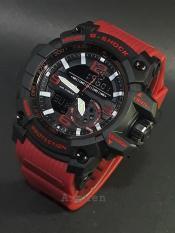 Jam tangan pria murah Casio G Shock GG1000 A black red
