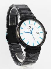 Jam Tangan Pria Original Charlie Jill 1428Mb Dial Biru