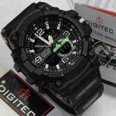 Jam Tangan Pria Original Digitec Dg2103 Black