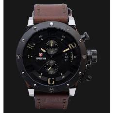 Jam Tangan Pria Original Expedition Pria E6381 M(Brown)