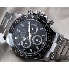Jam Tangan Pria Otomatis ( Tanpa Baterai ) - Daytona R - Stainless Steel Anti Karat - Automatic Watch for men - Water Resistant