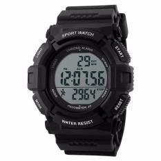 Ulasan Tentang Skmei Jam Tangan Pria S Shock Pedometer Sport Water Resistant 50M 1116 Black