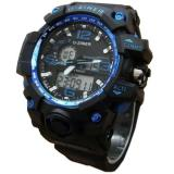 Harga Jam Tangan Pria Sporty Dziner Dz200 Circle Blue Paling Murah