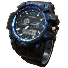 Spesifikasi Jam Tangan Pria Sporty Dziner Dz200 Circle Blue Paling Bagus