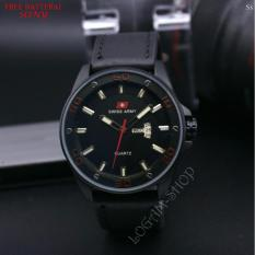 Harga Jam Tangan Pria Swiss Army Sa 1122 Ls Leather Strap Black Date And Day Aktif Red Yang Murah