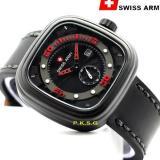 Harga Jam Tangan Pria Swiss Army Sa 140790 Tanggal Hari Tali Kulit Terbaik