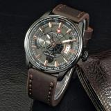 Beli Jam Tangan Pria Swiss Army Sa443W3E Chrono Detik Leather Strap