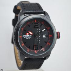 Harga Jam Tangan Pria Swiss Navy Sn674 21 Strap Kulit Swiss Navy Terbaik