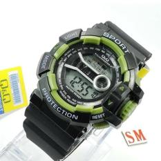Jual Jam Tangan Qq Qnq Q Q Digital Limited Edition Series Pria Wanita Formal Kasual Terbaru Women Or Men Premium Watch Rubber Strap Sporty Fashionable Bonus Zippo Premium Beam Korek Free Trend 2018 Qq