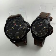 Spesifikasi Jam Tangan Rantai Couple Swiss Army Sa 6381 Merk Swiss Army