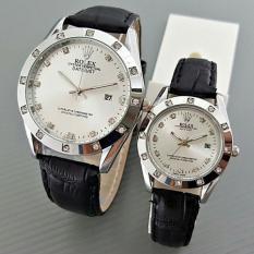 Jam Tangan Rolex Couple Tali Kulit /NN RLX#001