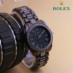 Jam Tangan Rolex-Jam Tangan casual dan fashion wanita-jam tangan cantik dan elegan wanita - stainless steel