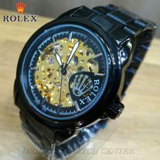 Jam Tangan--Rolex Pria - Automatic Movement - Jam Tangan Pria - Full Stainless Steel - Jam Fashion