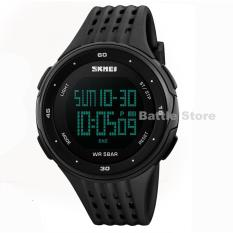 Beli Jam Tangan Skmei Sport Led Digital 1219 Water Resistant Black Skmei Watch Murah