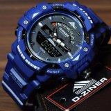 Spesifikasi Jam Tangan Sport D Ziner Dual Time Pria Terbaik
