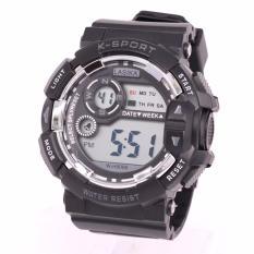Review Jam Tangan Sport Digital Lasika W H 9006 Unisex Black Jawa Timur