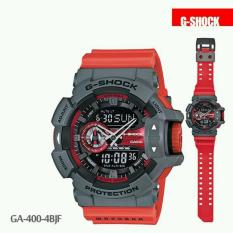 Jam Tangan Sporty Pria Casio G-Shock GA-400-4BJF - Body Grey - RedRuber