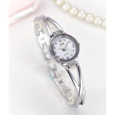 Jam Tangan Stainless Steel Perhiasan Wanita  JW945 Gelang Fashion Bracelet  Watch Watches - SILVER d802074500