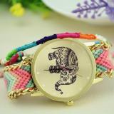 Spesifikasi Jam Tangan Wanita Style Thailand Image Background Gajah Free Gelang Tali Unbranded