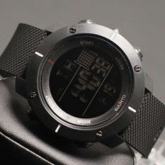 Jam tangan Sunto suunto Core digital full black dengan box Watch - Rubber Strap