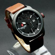 Jual Jam Tangan Swiss Army Original Sa 6063 Brown Leather Online