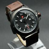 Jam Tangan Swiss Army Original Sa 6068 Dark Brown Leather Dki Jakarta Diskon 50