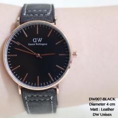 Jam Tangan Unisex DW Daniel Wellington Kulit New Model Terlaris Grosir