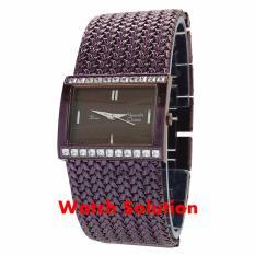 Jam tangan wanita Alexandre Christie original AC full rosegold tali pasir