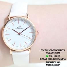Jam Tangan Wanita DW Daniel Wellington Bondi Leather Putih Grosir Dkny