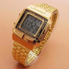 Jam Tangan Wanita Fashion Fortuner Strap Stainless Steel - Gold - FR J-505 G NU0403