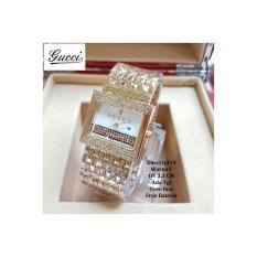 Jam tangan Wanita / jam tangan Murah Gucci Delica Rose Gold + Box