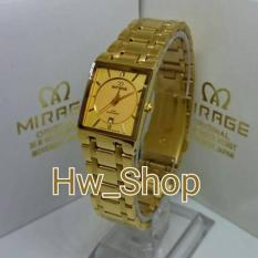 Beli Jam Tangan Wanita Mirage 7908 Gold Original Multi Online