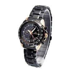 Jam Tangan Wanita Mirage 8305L Black Rosegold Ph