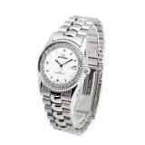 Jual Jam Tangan Wanita Mirage Permata Original Silver Rx 1579M Pp