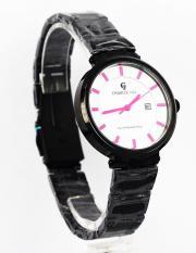 Jam Tangan Wanita Original Charlie Jill 1428Mb Dial Pink