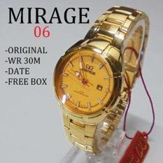 Review Toko Jam Tangan Wanita Mirage Ory Gold Stainless Steel Terbaru